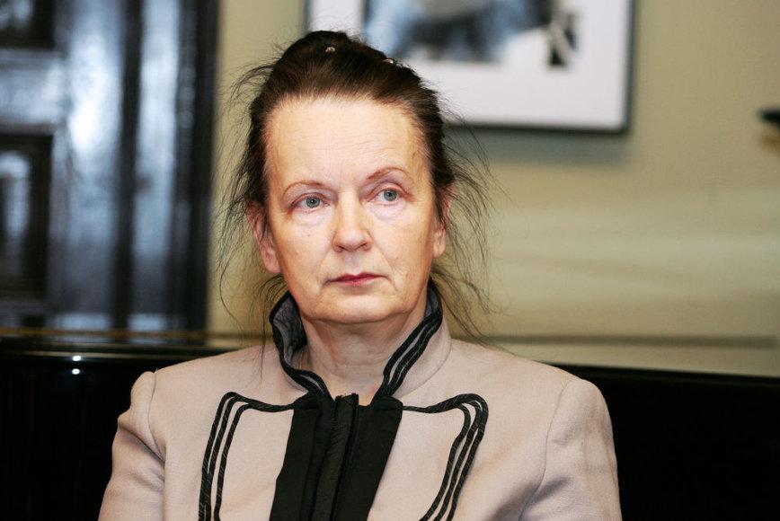 Literatūros tyrinėja Jūratė Sprindytė