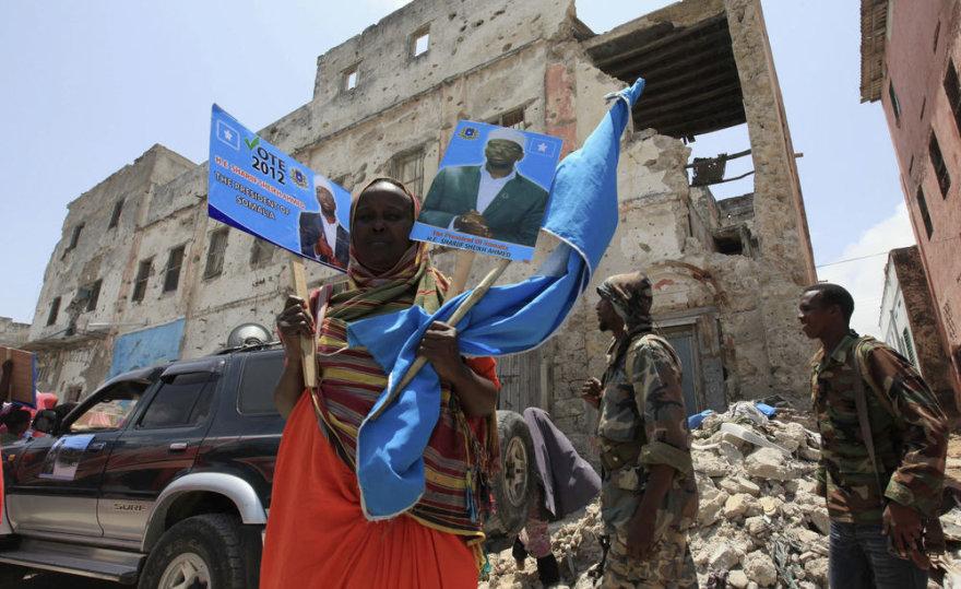 Somalyje prezidento rinkimai
