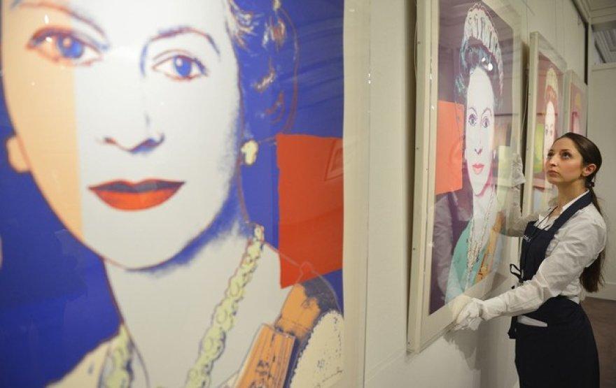 Andy Warholo karalienės portretai