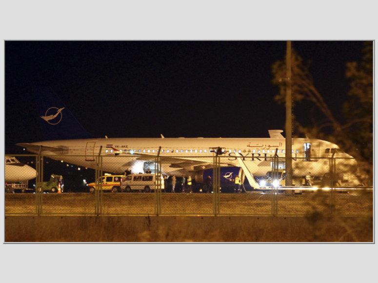 Sirijos lėktuvo sulaikymas