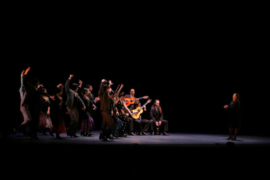 Maria Pages su flamenko šou
