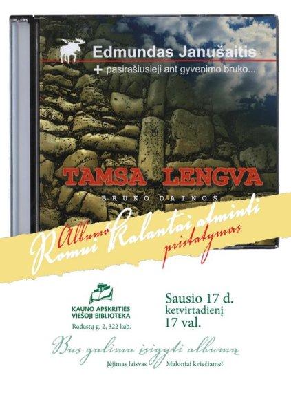 Edmundo Janušaičio dainų pristatymas