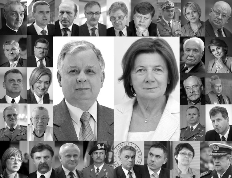 """Reuters""/""Scanpix"" nuotr./Žuvusieji per aviakatastrofą Smolenske"