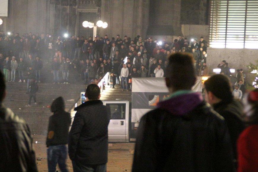 """AFP/""""Scanpix"""" nuotr./Kelnas Naujųjų metų naktį"""