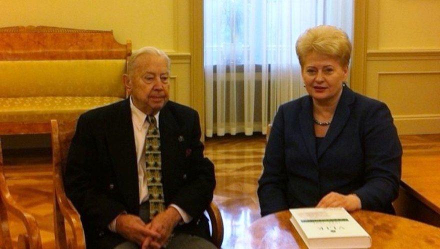 Kazys Bobelis ir Dalia Grybauskaitė