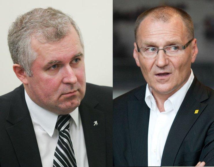 Arvydas Anušauskas ir Algis Čaplikas
