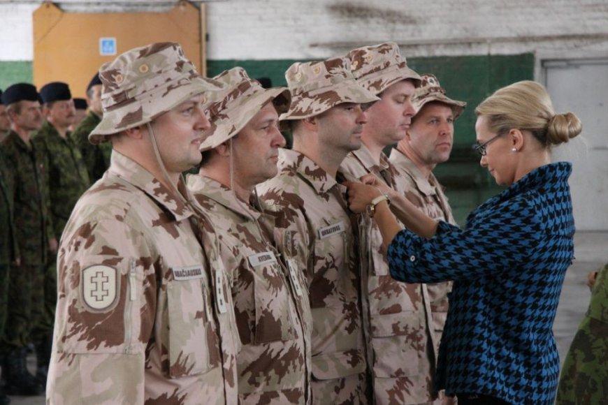 Apdovanojami kariai, tarnavę Afganistane