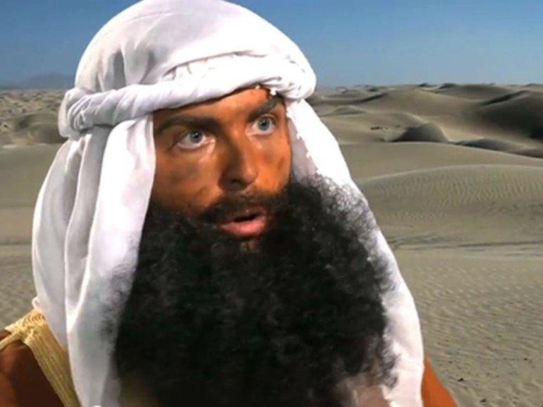 """Kadras iš filmo """"Musulmonų nekaltybė"""""""
