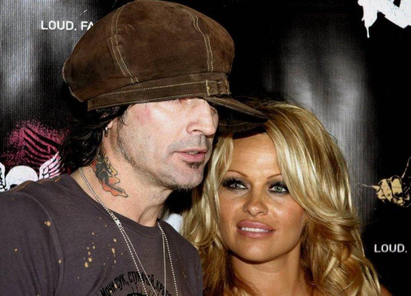 Pamela Anderson su Tommy Lee