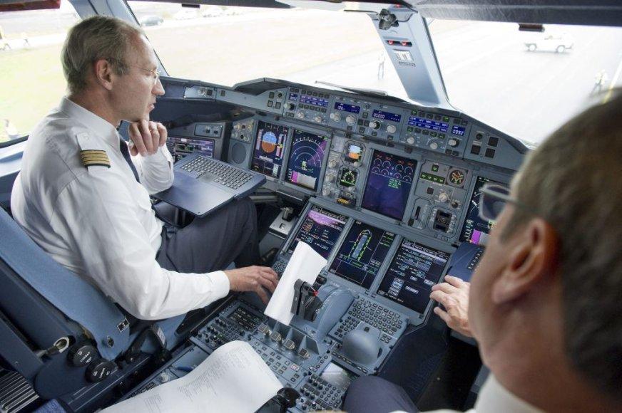 """""""Lufthansa"""" pilotas"""