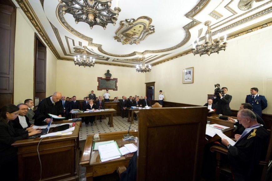 Vatikane vyksta popiežiaus liokajaus teismas