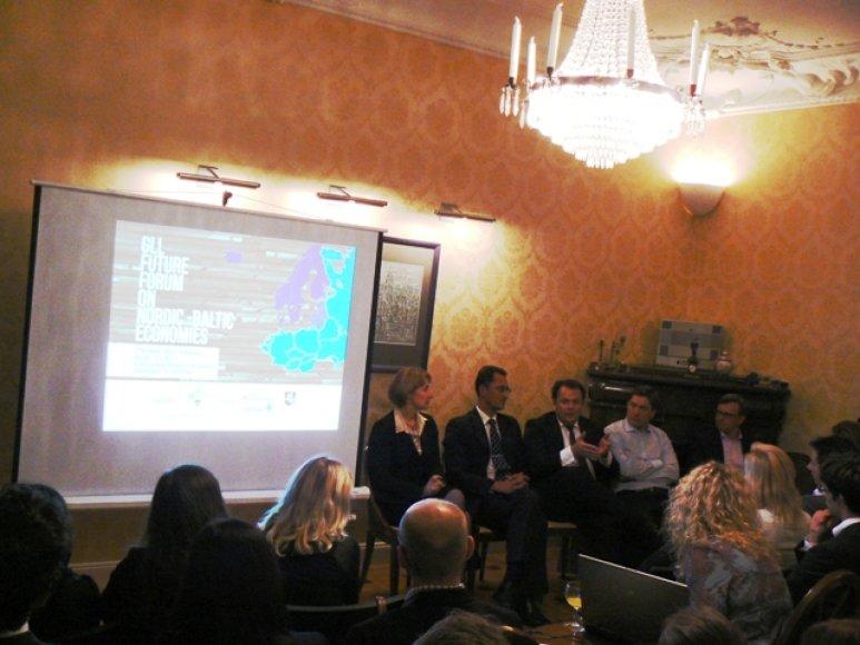 Globalios Lietuvos lyderių forumas Stokholme
