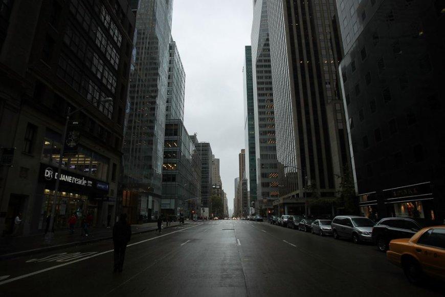 Ištuštėjęs Niujorkas