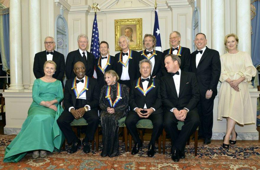Johno F.Kennedy centre pagerbti septyni kultūros milžinai