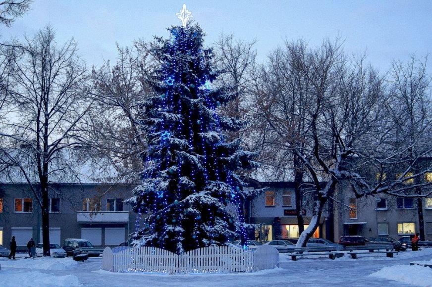 Belaukiant Kalėdų Raseiniuose