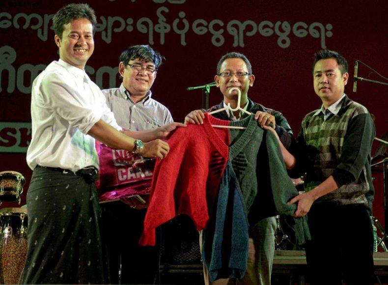 Aung San Suu Kyi megztinis