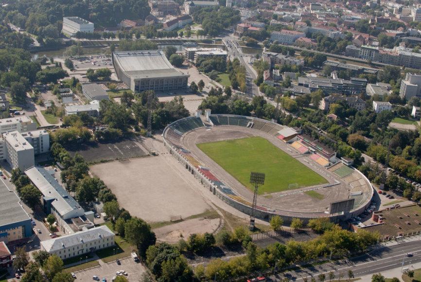 """V.Romanovas daug tikėjosi iš investicijų į """"Žalgirio"""" stadioną bei Vilniaus koncertų ir sporto rūmus, tačiau projektas įstrigo"""