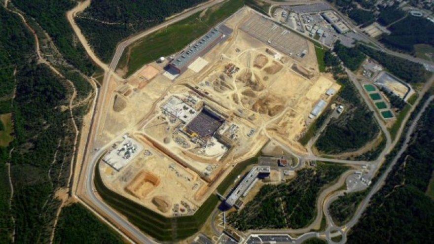 Šiųmetis ITER vaizdas iš oro.