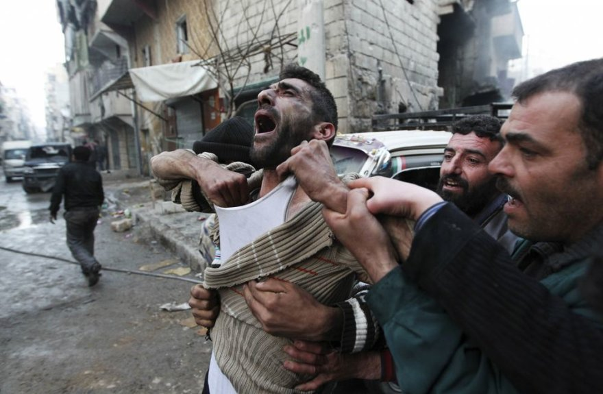 Tėvas Damaske reaguoja į dviejų savo vaikų mirtį
