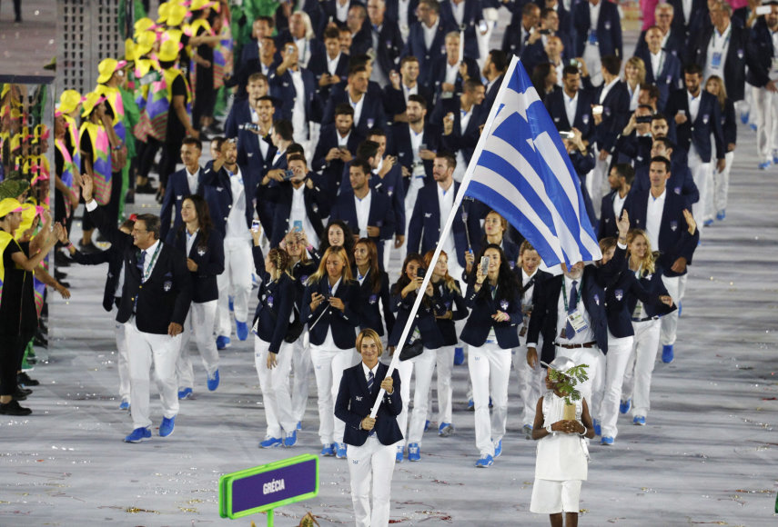 """AFP/""""Scanpix"""" nuotr./Graikijos delegacija"""