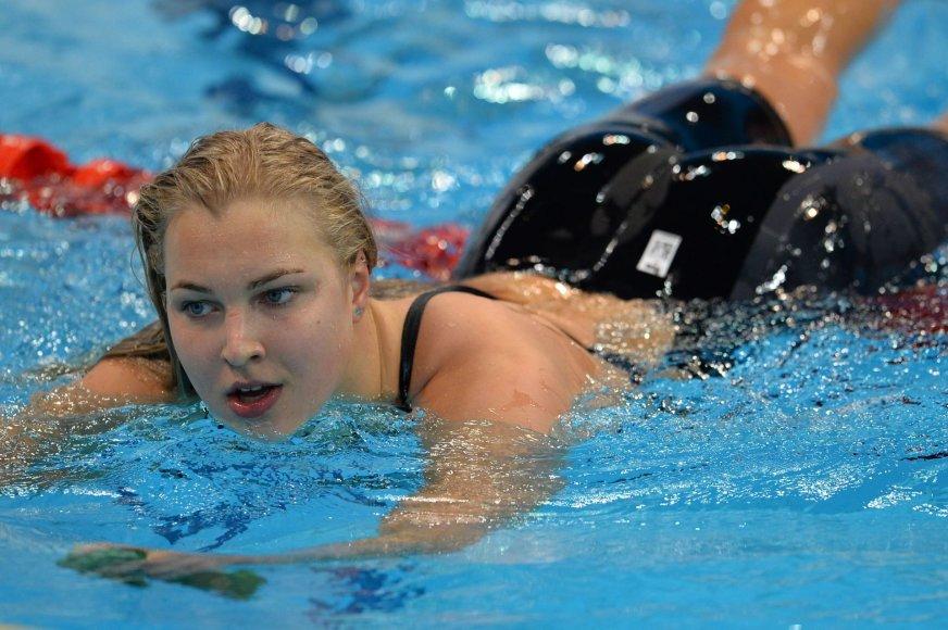 "AFP/""Scanpix"" nuotr./Rūta Meilutytė"