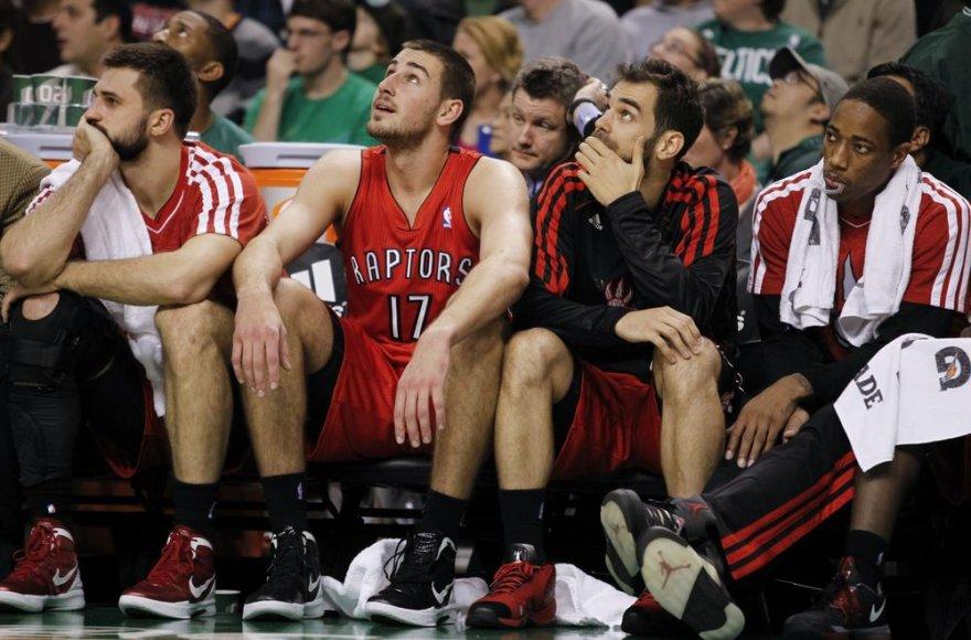 NBA lietuviams diena nebuvo sėkminga