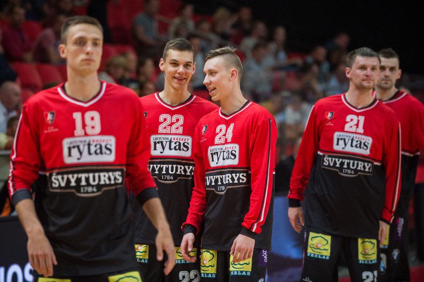 Alfredo Pliadžio nuotr./Deividas Sirvydis (22) ir Arnas Beručka (24)