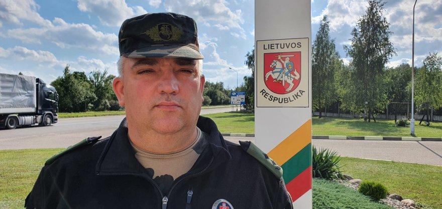 L.Tubio/15min nuotr./VSAT Kalvarijos užkardos vadas Rimantas Kundreckas