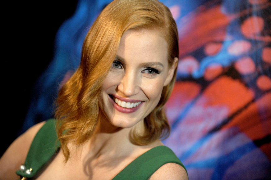 """""""Scanpix""""/ Starmax/PA Images nuotr./Jessica Chastain"""