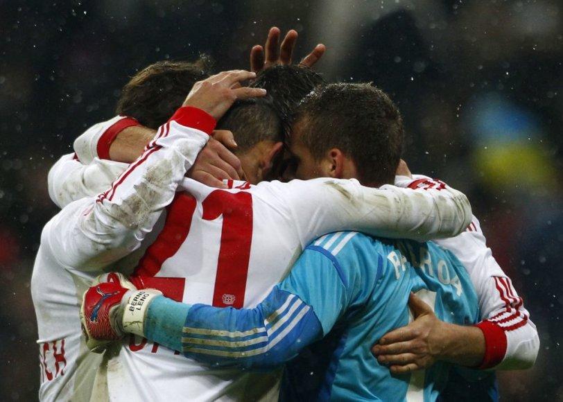 """Lėverkuzeno """"Bayer"""" klubas įveikė Miuncheno """"Bayern"""""""