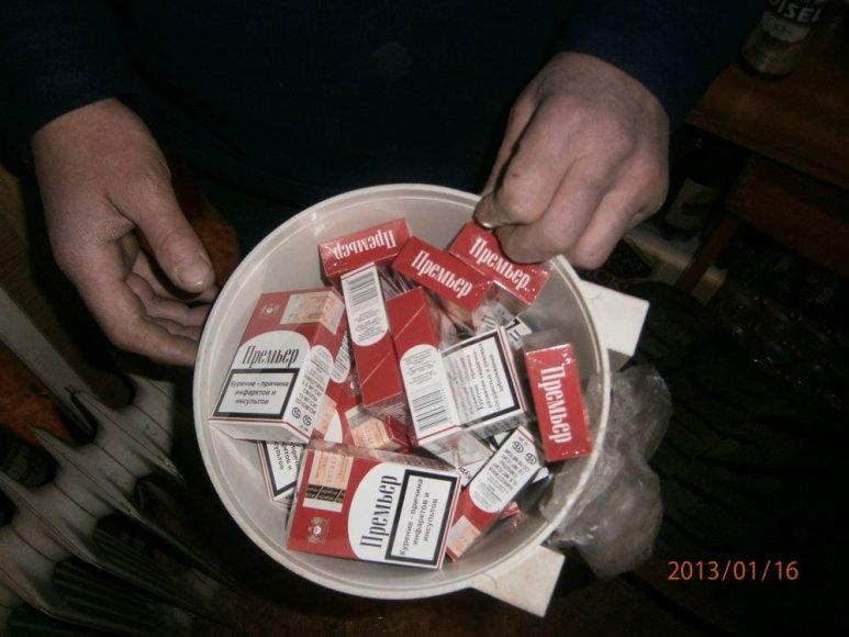 Cigaretės praustuve