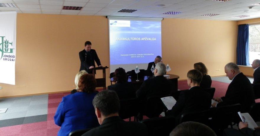 Projekto partnerio nuotr./Konferencijos akimirka