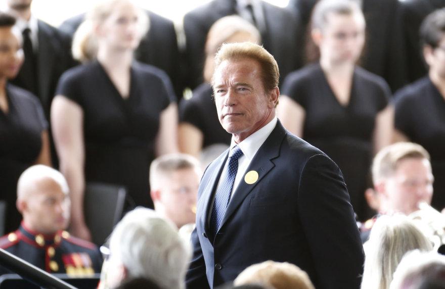 """Scanpix"" nuotr./Arnoldas Schwarzeneggeris"