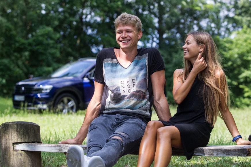 Vyganto Skaraičio nuotr./Mindaugas Kuzminskas ir Eglė Andreikaitė