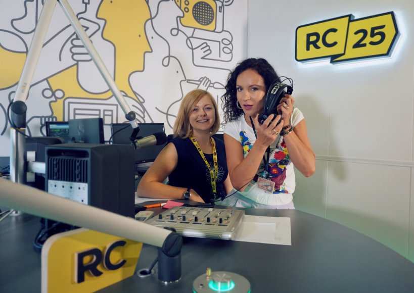 """""""Radiocentro"""" nuotr./Livija Gradauskienė, Vaida Zakarkienė"""