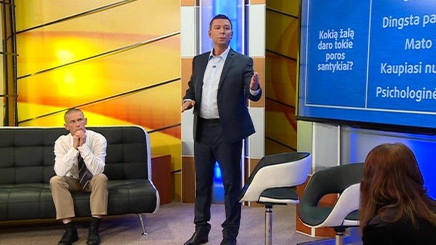"""TV3 nuotr./""""TV Pagalbos"""" herojai Aleksandra ir Linas"""