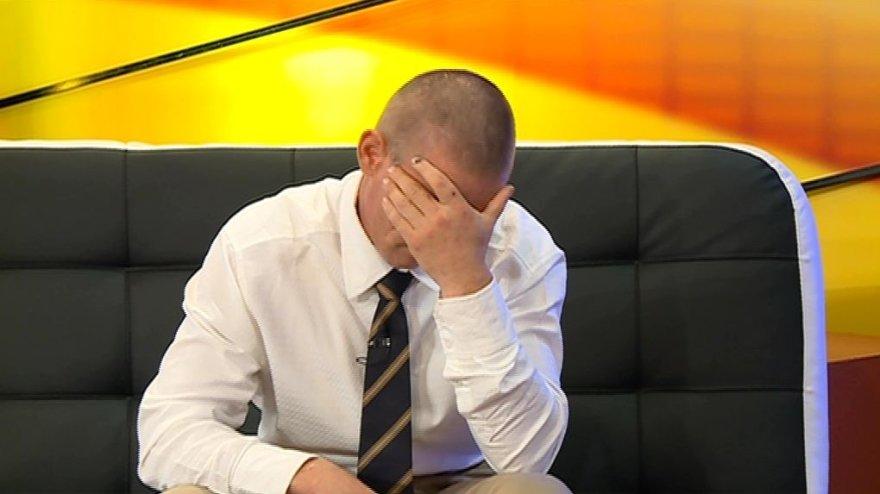 """TV3 nuotr./""""TV Pagalbos"""" herojus Linas"""