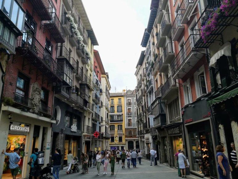 Monikos Svėrytės nuotr./Pamplona