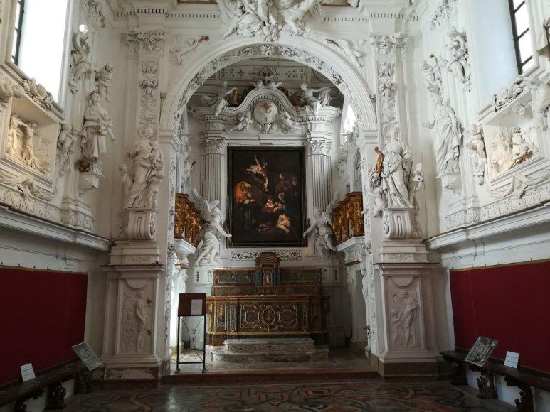 Monikos Svėrytės nuotr./Oratorio di San Lorenzo