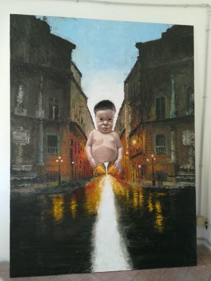 Monikos Svėrytės nuotr./Bernardo Tortorici Montaperto galerijoje