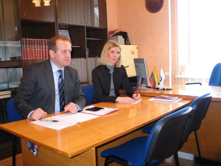 Sauliaus Sodonio nuotr./2013 m. vasario 14 d. Seimo narys Artūras Skardžius susitiko su Vilkyčių bendruomene