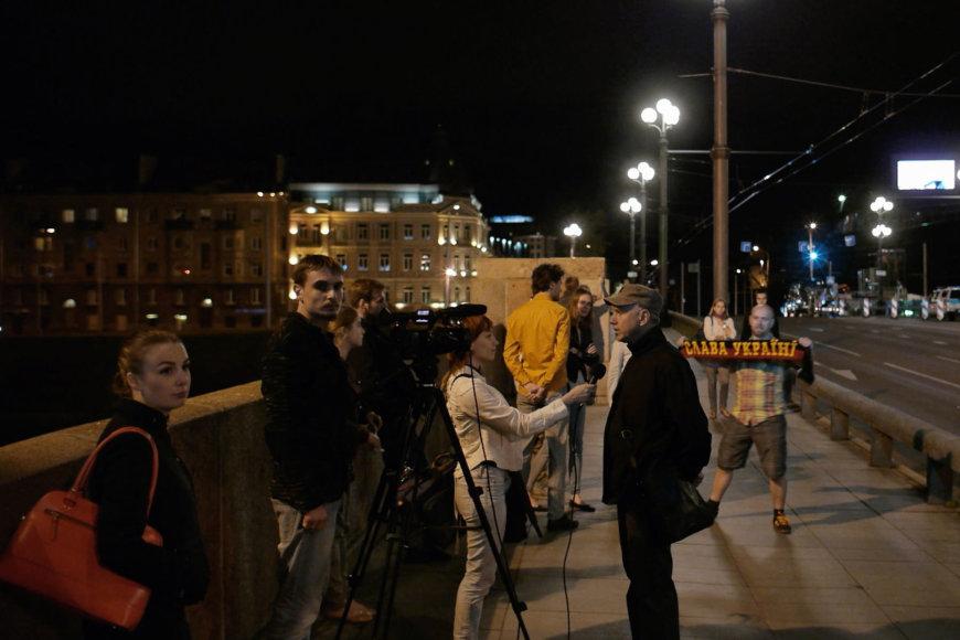 """Filmo stop kadras/ Deimanto Narkevičiaus filmas """"20.07.2015"""""""