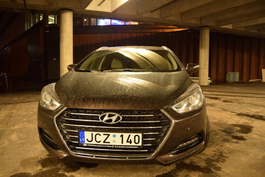 """Dainiaus Cuberos ir Viliaus Vaserio nuotr./Atnaujintas """"Hyundai i40"""""""