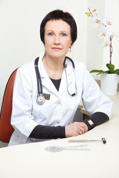 Partnerio nuotr./Fizinės medicinos ir reabilitacijos gydytoja Virginija Kirtiklienė