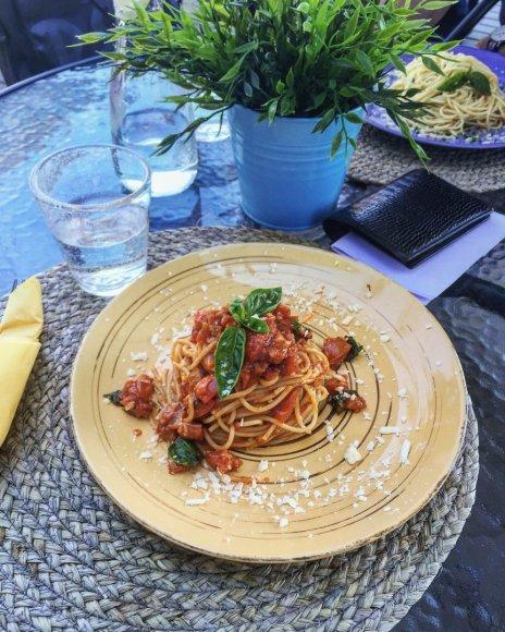 Partnerio nuotr. /Spaghetti al Pomodoro