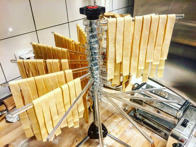 Partnerio nuotr. /Šviežiai gaminami Tagliatelle