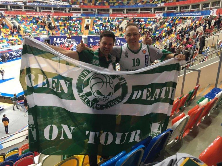 """Fanų klubo """"Green Death"""" nuotr./""""Žalgirio"""" fanai pasakė, ko komandai trūko praėjusį sezoną"""