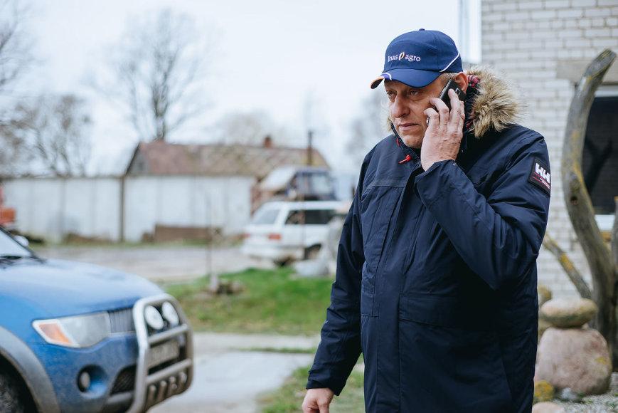 T.Preikšos nuotr. /Juozas Dūda vadovauja Darginių žemės ūkio bendrovei