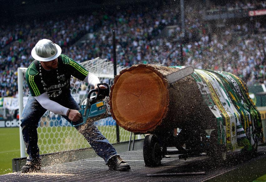 """Scanpix"" nuotr./""Portland Timbers"" talismanas Joey imasi darbo"