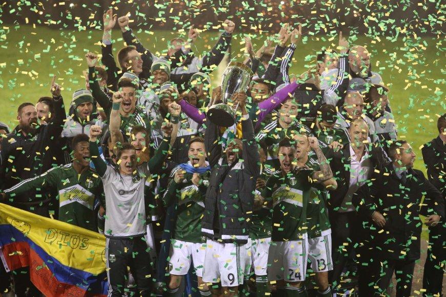 """""""Scanpix"""" nuotr./""""Portland Timbers"""" – praėjusio sezono čempionai"""